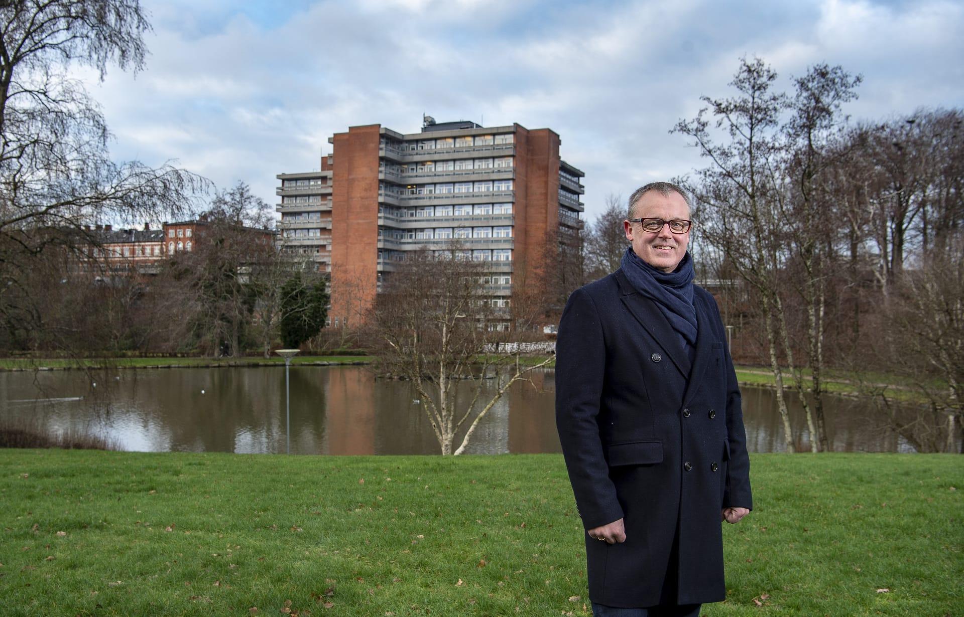 Direktør Jesper Larsen, Holstebro Udvikling P/S.